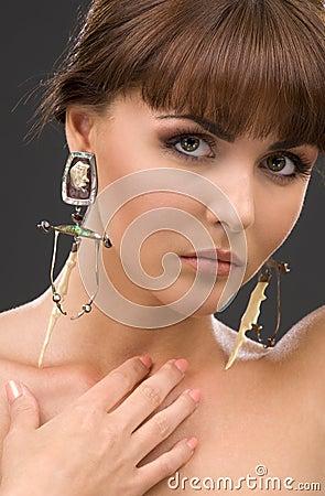 Free Green-eyed Beauty Stock Photo - 5800290