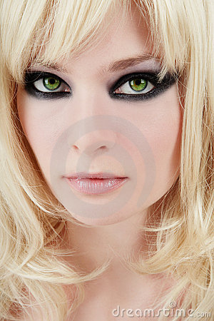 Free Green-eyed Blonde Royalty Free Stock Photos - 6273028