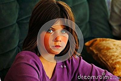 Green eyes)