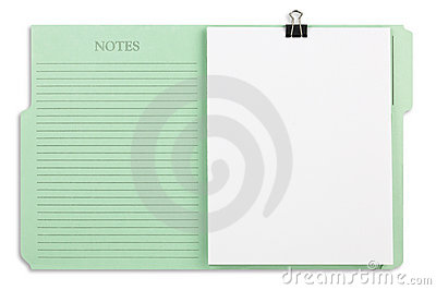 Green File Folder with Path