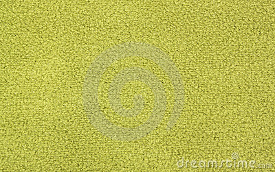 Green fleece material