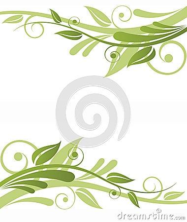 Free Green Flora Design Royalty Free Stock Photos - 17865318