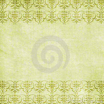 Free Green Floral Love Background Scrapbook Paper Royalty Free Stock Photo - 12241315