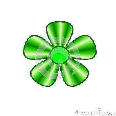 Green flower