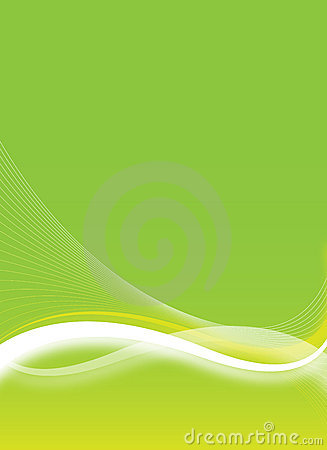 Green Flyer Design Royalty Free Stock Photo - Image: 10603665
