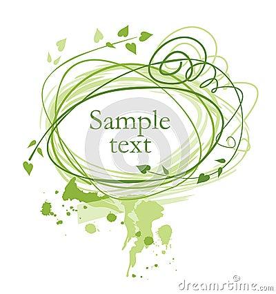 Free Green Frame Royalty Free Stock Photo - 2852925
