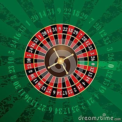 Green french wheel