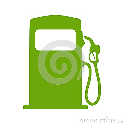 Free Green Fuel Pump Stock Photo - 41617670
