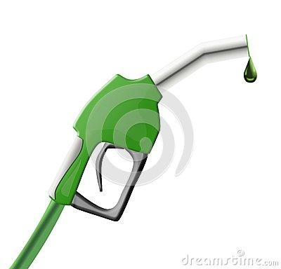 Free Green Fuel Pump Gun Royalty Free Stock Photos - 28711348