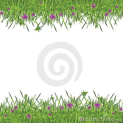 Green garden frame
