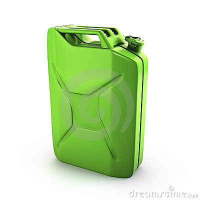 Green gas can