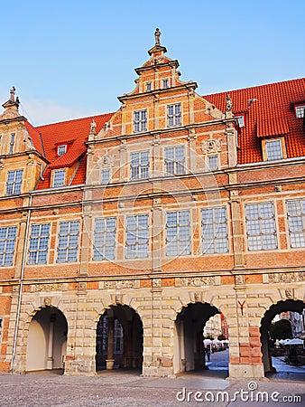 Green Gate in Gdansk, Poland