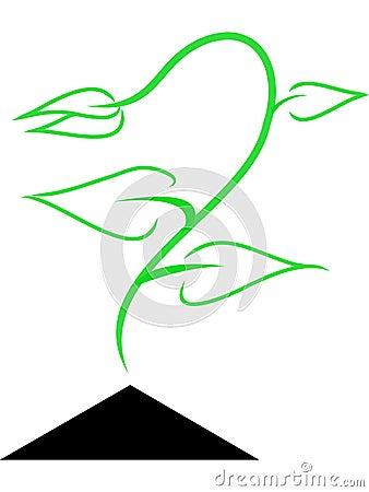 Green germ Logo