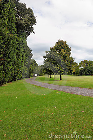 A green glade in a park-garden Sigurta