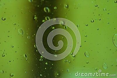 Green Glass Bubbles