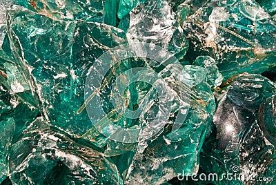 Green Glass Rocks