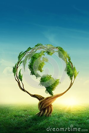 Free Green Globe Royalty Free Stock Photos - 140899018