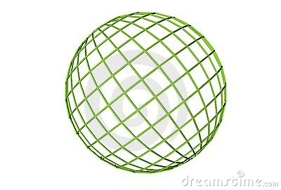 Green, globe