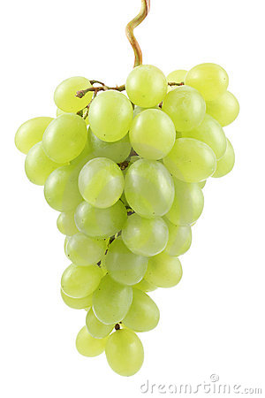 Free Green Grapes Royalty Free Stock Photo - 2612055