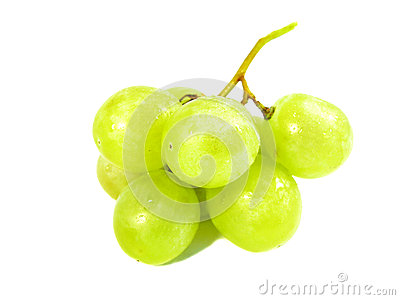 Green Grapes with White Grape