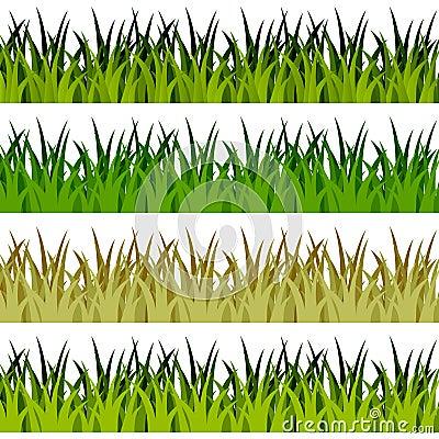 Green Grass Banners