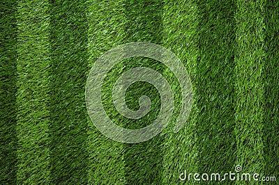 Green grass football field background