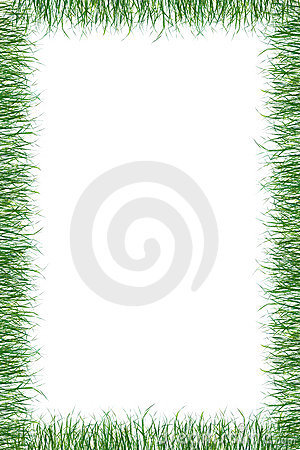 Free Green Grass Paper Summer Background Royalty Free Stock Photography - 842327