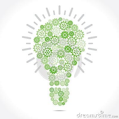 Green Grear make bulb