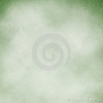 Green grunge paper background