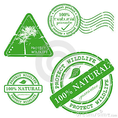 Green grunge rubber stamp with the text
