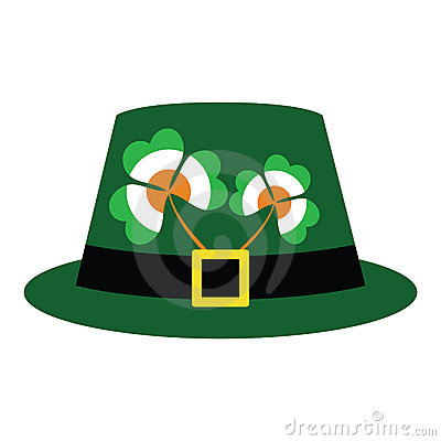 Green hat for St. Patrick s Day