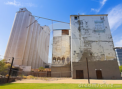 A Green at Hayden Flour Mill Shot, Tempe Editorial Stock Image