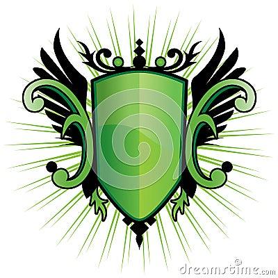 Green Herald Crest