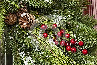Green Holiday Christmas Decoration