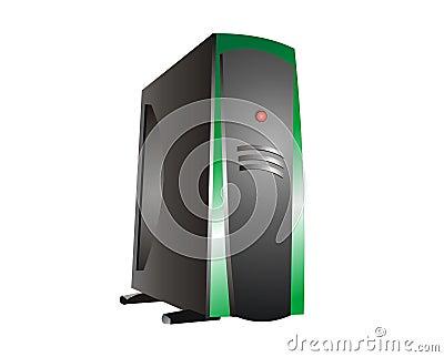 Green Hosting Server