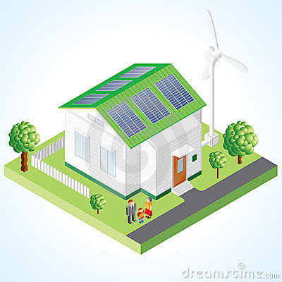 Free Green House Royalty Free Stock Images - 18198539