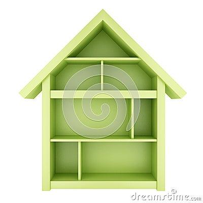 Free Green House Royalty Free Stock Photos - 49505888
