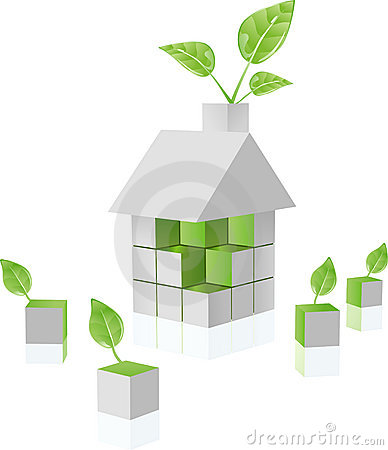 Free Green House Royalty Free Stock Photos - 6686028