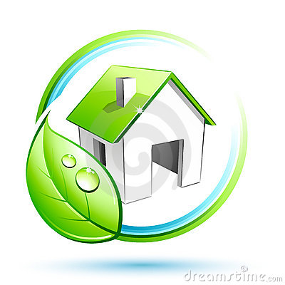 Free Green House Stock Image - 8441421