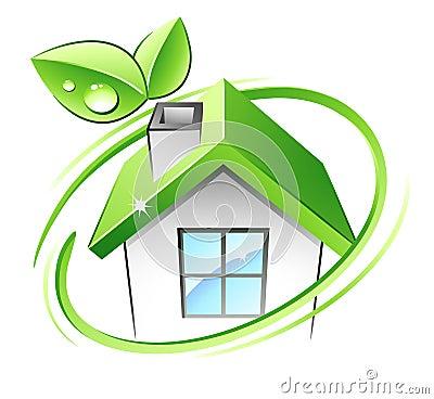 Free Green House Royalty Free Stock Photos - 9540628