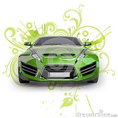 Green hybrid car