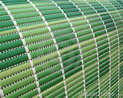 Green industrial roll pack, stripped texture,