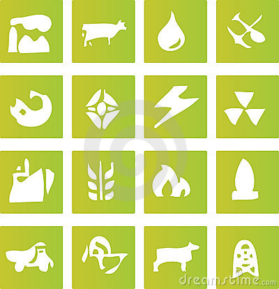 Green Industry Icons