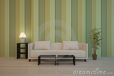 Green interior composition