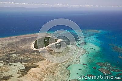 Green Island in Great Barrier Reef