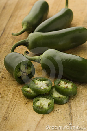 Free Green Jalapenos  Peppers Stock Image - 11126051