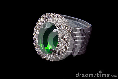 Green Jewel Ring