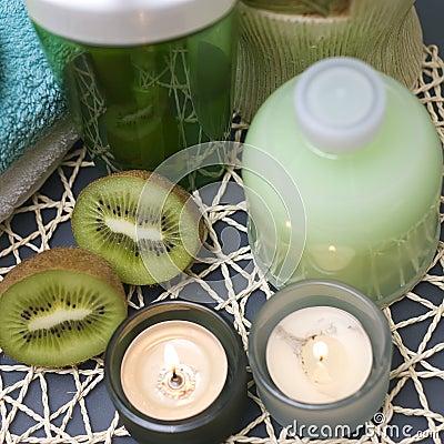 Green kiwi spa