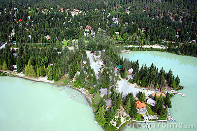 Green Lake Whistler, British Columbia, Canada