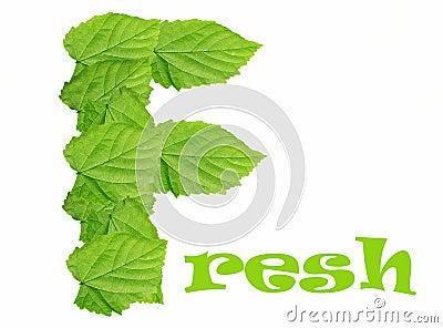 Green Leaves Fresh Logo